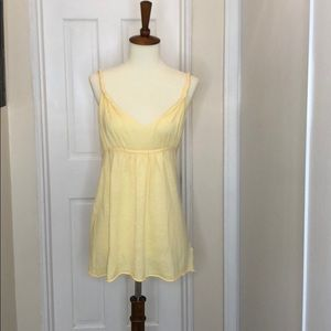 NWT Banana Republic Yellow V Neck Twist Top